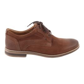 Riko pantofi pentru bărbați cu tăiere joasă 831 maro