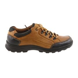 DK Pantofi sport pentru bărbați camel 0493