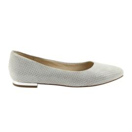 Pantofi pentru balerine Caprice pentru femei 22104 gri