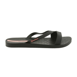 Negru Ipanema flip flops pentru pantofi femei 26263