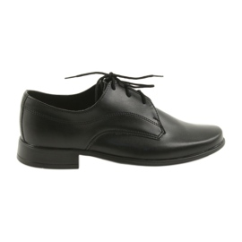Miko pantofi pentru copii pantofi comuniune băieți negru