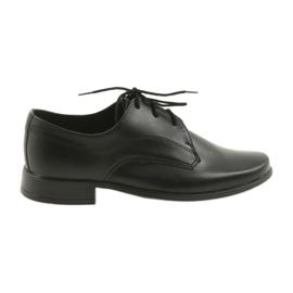 Negru Miko pantofi pentru copii pantofi comuniune băieți