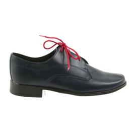 Miko pantofi pentru copii pantofi Comuniune bleumarin