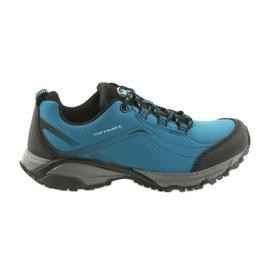 American Club Pantofi sport pentru femei ADI legat softhell american impermeabil WT06 / 19 albastru