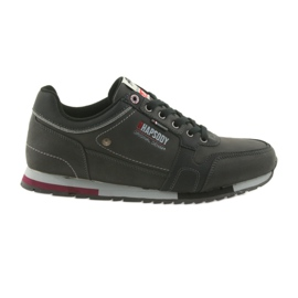 Pantofi sport pentru bărbați ADI American Club RH03 / 19 negru
