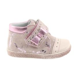 Ren But Pantofi pentru copii de buzunar cu buzunar Ren Dar 1535 de flamingos roz