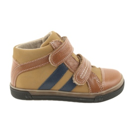 Pantofi cizme pentru copii Boots Ren But 3225 rosu / marina