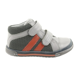 Pantofi Boote Velcro cizme Ren But 3225 gri / portocaliu