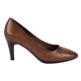 Vinceza Pompe clasice de culoare brună maro