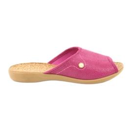 Roz Befado femei pantofi pu 254D092