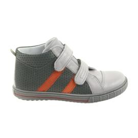Ren But Pantofi Boote pentru copii cizme Velcro Ren 4275 gri / portocaliu