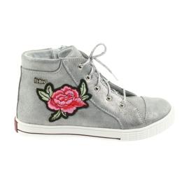 Ren But Pantofi pantofi fete de argint Ren Dar 4279 gri