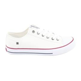 Pantofi Big Star legat alb 174271