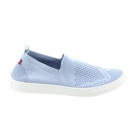 Big Star albastru Pantofi alunecoși de mare poșetă 274785