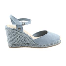 Big Star Big sandals espadrilles 274A170 albastru