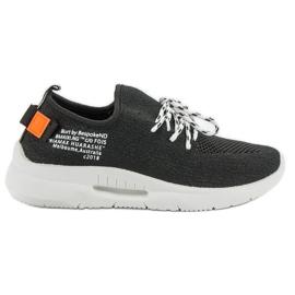 Mckeylor negru Slip Sport Shoes