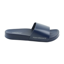 Bleumarin Pantofi pentru bărbați înfricoșați, albastru de la Atletico