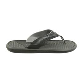 Atletico negru flip flops