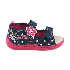 American Club Încălțăminte pentru copii papuci sandale inserție din piele americană