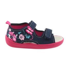 American Club Încălțăminte pentru copii papuci sandale inserție din piele american 37/19