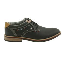 American Club Încălțăminte bărbați pantofi Rhapsody RH 08/19 negru