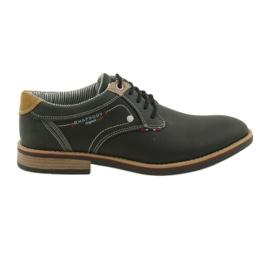 American Club negru Încălțăminte bărbați pantofi Rhapsody RH 08/19