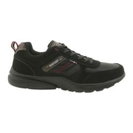 American Club Pantofi sport ADI pentru bărbați Black American HA16