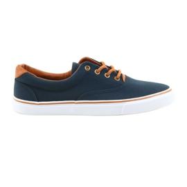 American Club Pantofi pentru bărbați albastru marinat LH03