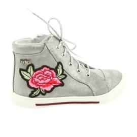 Ren But Pantofi pantofi fete de argint Ren Dar 3237 gri