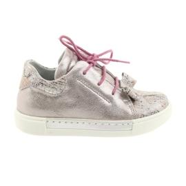Ren But Rin pantofi de piele 3303 perla roz