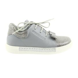 Ren But Pantofi din pantofi 3303 din piele gri