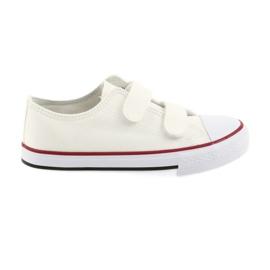 Atletico alb Pantofi de velcro