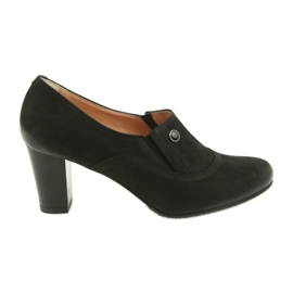 Pantofi cu toc inalt Espinto P52 / 1 negru
