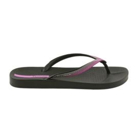 Japki Ipanema Flip Flops 82518 Negru / Lilac