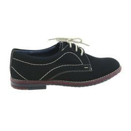 Pantofi pentru băieți Gregors 429 albastru maroniu bleumarin