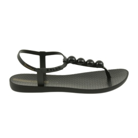 Negru Ipanema sandale pantofi pentru femei pantofi cu bile 82517