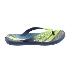 Papuci pentru copii Rider 82563 albastru maroniu