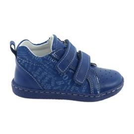 Ren But Pantofi pentru copii pentru copii cu Velcro Ren Dar 1429 albastru