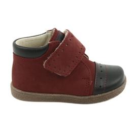 Ren But Pantofi de pantofi cu Velcro Ren Dar 1535 burgund