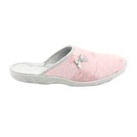 Befado pantofi femei colorate 235D161 roz