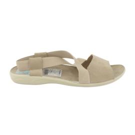 Sandale pentru femei Adanex 17495 bej maro
