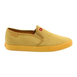 Big Star 274889 adidasi pentru femei galben