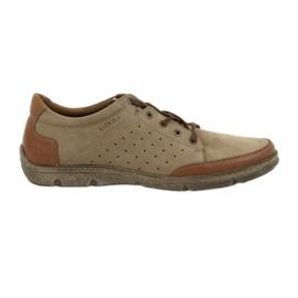 Pantofi bărbați Badura 3524 bej / maro
