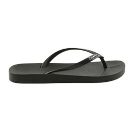 Flip flops negru pentru femei Ipanema 82591