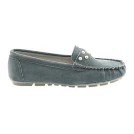 Pantofi de mocasini femei Filippo gri