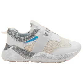 Slip-on VICES Pantofi sport alb