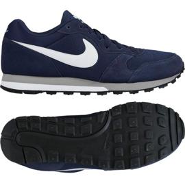 Negru Pantofi de alergat Nike Md Runner 2 M 749794-410