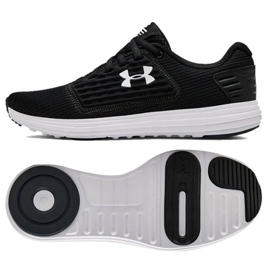 Under Armour negru Sub pantofi de încălțăminte pentru încălțăminte din seria W 3021248-001