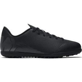 Nike Mercurial Vapor X 12 Club Tf Jr AH7355-001 Pantofi de fotbal