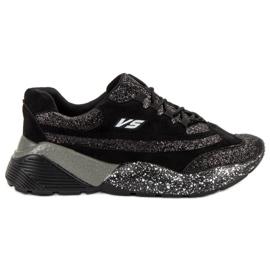 Pantofi sport cu brocade VICES negru